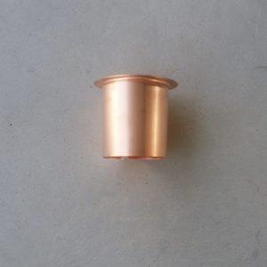 bocchetta rame piana da 80 mm