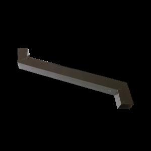 allungabile testa di moro 80x80 L=800 mm