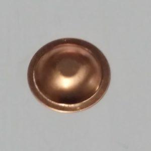 borchia rame da 30 mm