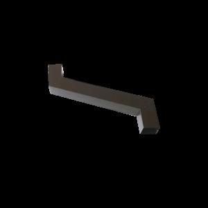 allungabile testa di moro 80x80 L=500 mm