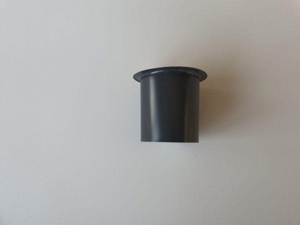 bocchetta preverniciata RAL 7016 da 80 mm