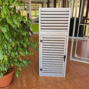 griglia ventilazione apribile con sopraluce