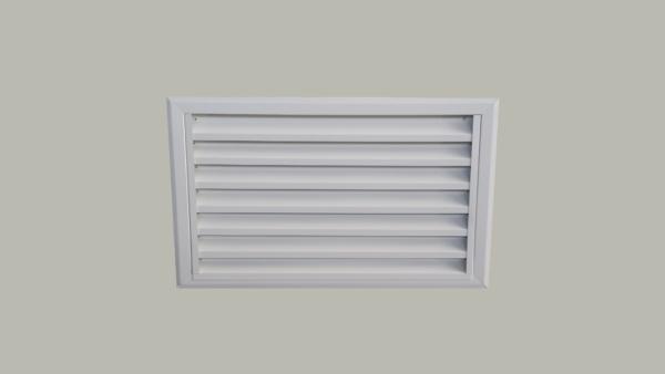 griglia ventilazione colore bianco 9010