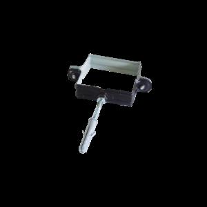 collare testa di moro 80x80 mm
