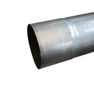 pluviale acciaio inox 80 mm